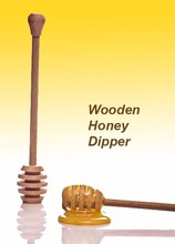 Wooden Honey Dipper / Stick