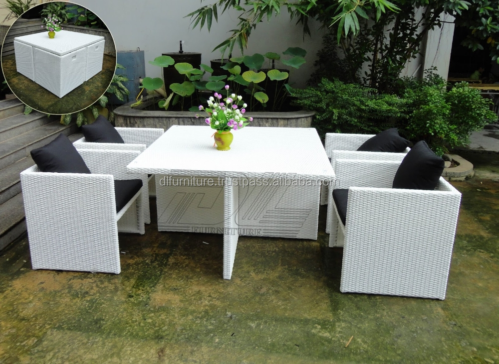 Vietnam supplier 2015 hot sell synthetic rattan garden for Outdoor furniture vietnam