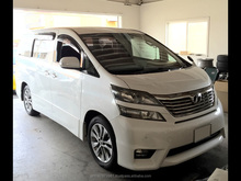 Used Toyota vellfire cars and used car spare parts in Japan