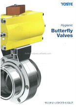 Multiple functions sanitary Butterfly Valve , we are looking for retailer in asean area