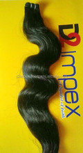Brazilian Hair Weaves, Made of 100% Human Hair, Without Any Mixing