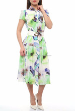 short sleeve casual midi dresses and women clothes in Turkey