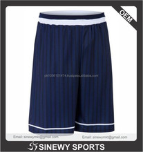 cut & sew youth basketball shorts new design