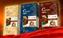 100% dark brown alkalised cocoa powder (150g) - Vinacacao