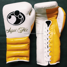 OEM custom design your own club & company logo and label pro style Mexican grant boxing gloves