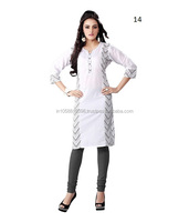White Kurtas/ Kurtis for Women online in India