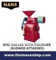 descascaradora de arroz de la máquina