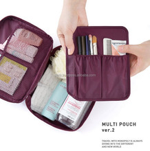 Monopoly Multifunction Mesh Cosmetic Travel Toiletry Bags