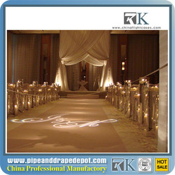 aluminum pipe and drape stands / backdrop for wedding party