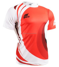 Mens short Sleeve 100% polyester Dry fit Mesh wicking sport T-Shirt