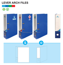 Lever Arch File Promotional PP Cover FlexOffice (FO-LAF01, FO-LAF02, FO-LAF03, FO-LAF04, FO-LAF05, FO-LAF06, FO-LAF07, FO-LAF08)