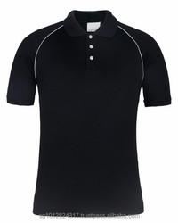 Women's office uniform design polyester/ spandex woven collar polo shirt