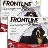 Frontline Plus for Extra Large Dogs 89-132 lbs 12 Doses