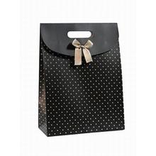 Foldable Custom design Art paper bag Factory price /shopping bag paper