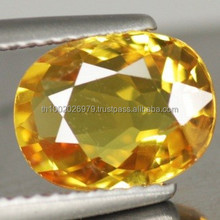 Attractive 2.68 ct. Oval Cut Natural Gemstone Yellow Sapphire