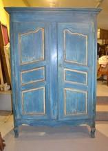Louis XV Painted Wardrobe