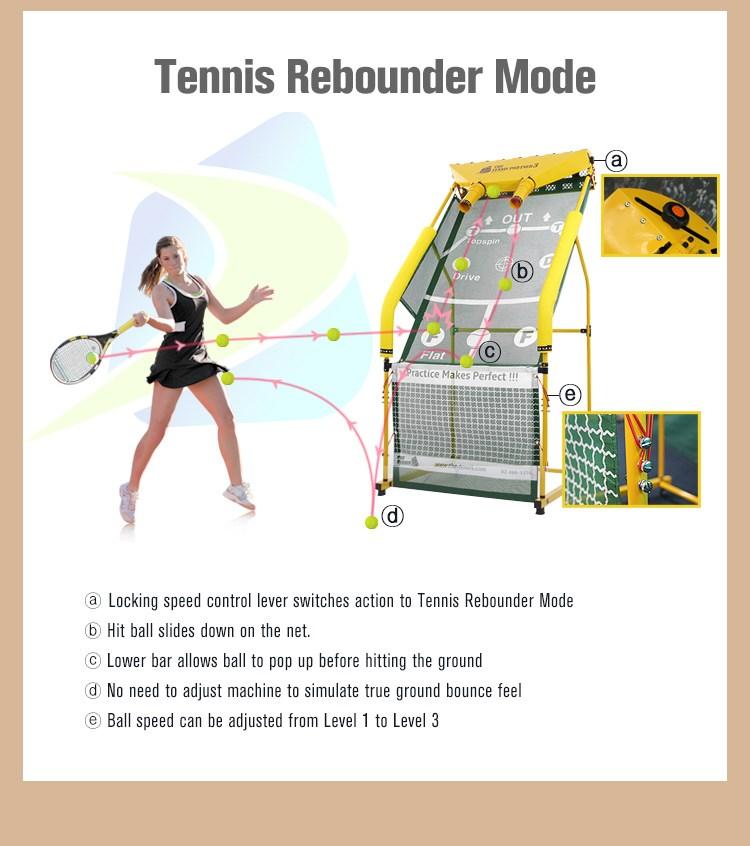 Máquina de Bater Bola de tênis/Tênis Instrutor de Auto