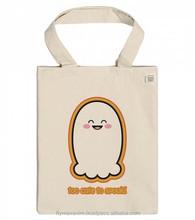 Natural cotton canvas bag/ eco green cotton tote bag