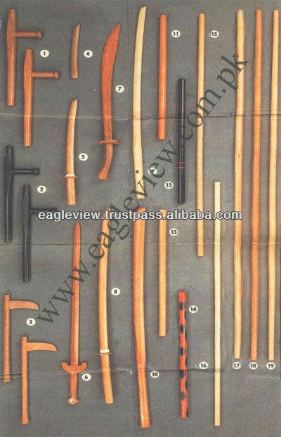 Holz muskut schwert aus holz, größe in cm 82.50 naturfarben hand größe 17.50 cm mit transparentem glas beschichtung