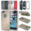 Armor Defender 3 Layer Kick Stand Shell Deluxe Back Case Cover For Apple iPhone 6 5.5
