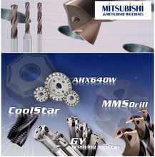 Mitsubishi drills can show you great innovation of showing cost-effectiveness in your general drilling and harden drilling