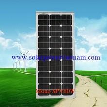 80w Mono Solar Panel (Solar Viet Nam Mono SPV80Wp)
