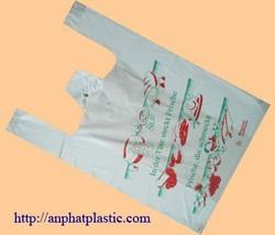 HDPE Printed plastic bags for food packaging