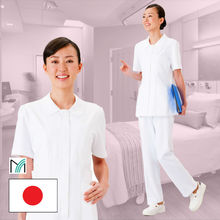 wholesale and japanese fabric for medical uniform nurse wear with multiple functions