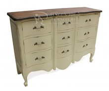 2014 good quality hand painted chest of drawers