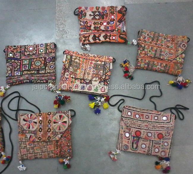 Tassen Uit India : Gros collection exclusive de sacs vintage banjara sac