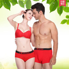Red Colors Fashion Panties Sexy Lady Girls Briefs Women Lovers Cotton Underwear