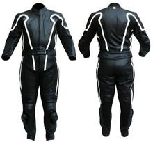en la carretera de carreras de cuero traje señoras moto mono traje de carreras mono de cuero completo traje de carreras de una s