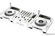 Buy 2 get 1 Free for Pioneer CDJ-850-W/DJM-850-W White DJ System