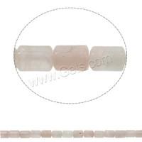 Column Natural Rose Quartz Beads