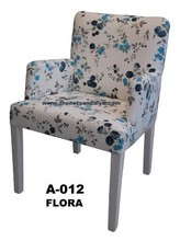 upholstered commercial restaurant low armchair