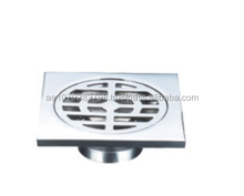 bathroom & kitchen chrome plated floor drain/size:100*100 ZAT-DX0843