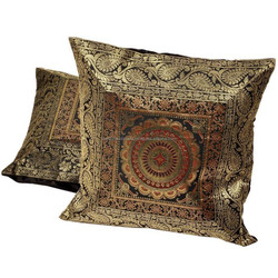 Indian Home Decor Jacquard Cushion Covers