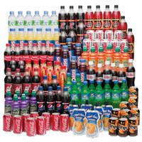 Cola , Sprite , Fanta, Pepsi, Bottles/ Can