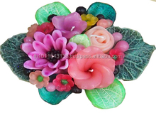 Aroma rose flower decoration candle