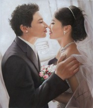 Wedding Art Portrait Painting and Drawing Services