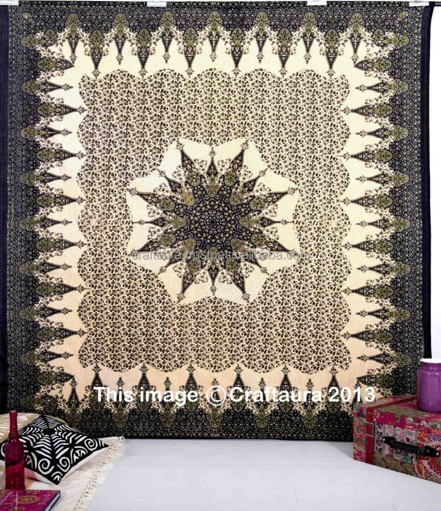 Wall Tapestry Home Decor : Hippie indian tapestry home decor wall art bohemian