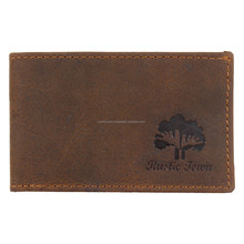 Small Thin leather Mens wallet American Wallet