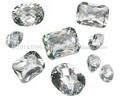 aaa blanco topacio corte redondo de piedras calibradas- venta al por mayor sueltas piedras de topacio