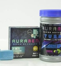 AuraMen Turbo Collagen 900000mg of l-gluthathione with collagen