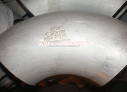 Oil and gas or Petroleum steel pipe elbow A234 WP91
