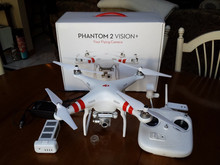 Brand New DJI Drone Phantom 2 Vision Plus RC Quadcopter Drone for GoPro Hero 3 2 1 Camera -Aerial Quad UAV GPS BUY 2 GET 1 FREE