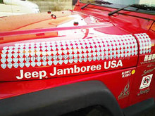 (OEM) Inkjet printable and durable sticker film for car decal car body sticker