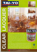 TAI-YO NC lacquer for Wooden Floor, Furniture, Interior, Building Decorative