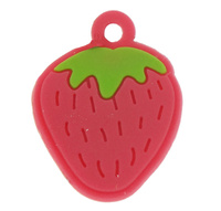 Soft P Pendant Straw two tone 19x25x1.50mm Hole:Appr 1mm 1000PCs/Bag Sold By Bag