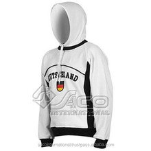 Wholesale OEM Blank Design Fashion Hoodies Without Hood for Women